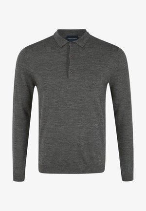 PROFUOMO - Polo shirt - anthra