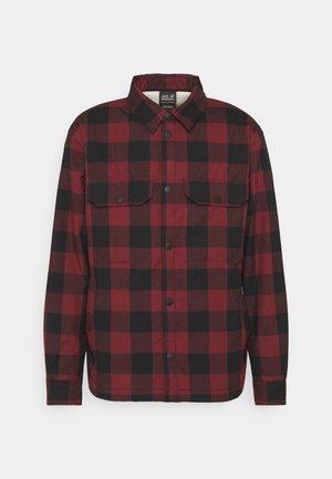 WHITEVILLE - Overhemd - cordovan red checks