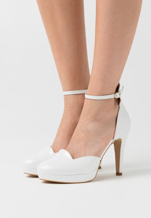 High heels - casiopea nacar bianco