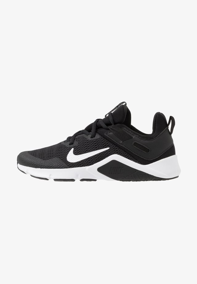 LEGEND ESSENTIAL - Sports shoes - black/white