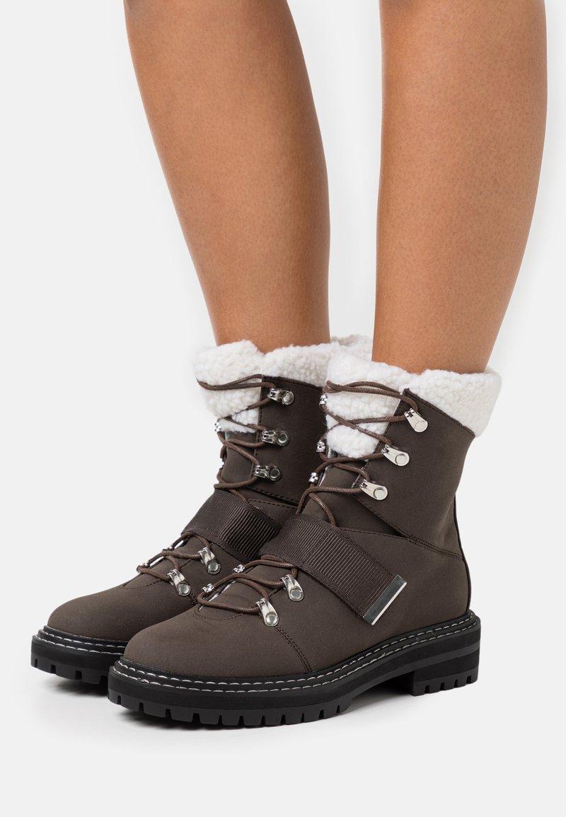 Even&Odd - Vinterstøvler - dark brown