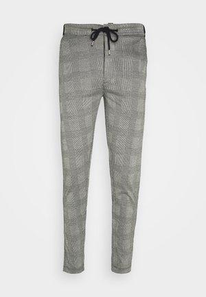 MORGAN - Pantalon classique - black/white