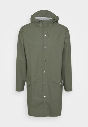 LONGER JACKET UNISEX - Waterproof jacket - olive