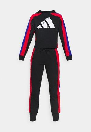 BIG LOGO - Treningsdress - black/vivid red/bold blue