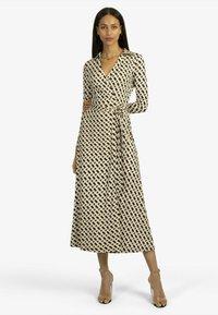 Apart - Shirt dress - schwarz-beige - 1