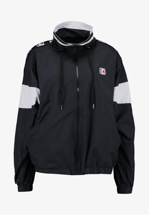 TAPE - Summer jacket - black/white