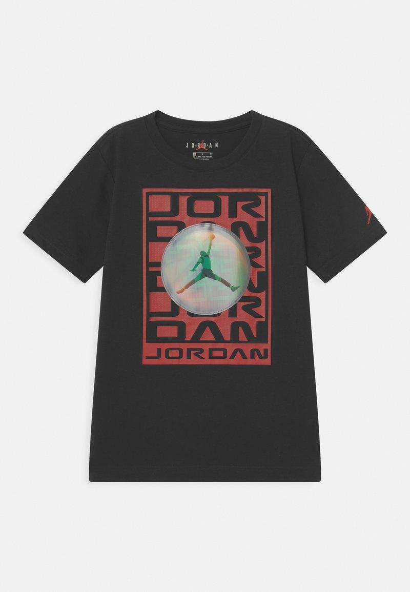 Jordan - FLASH STACK - Print T-shirt - black