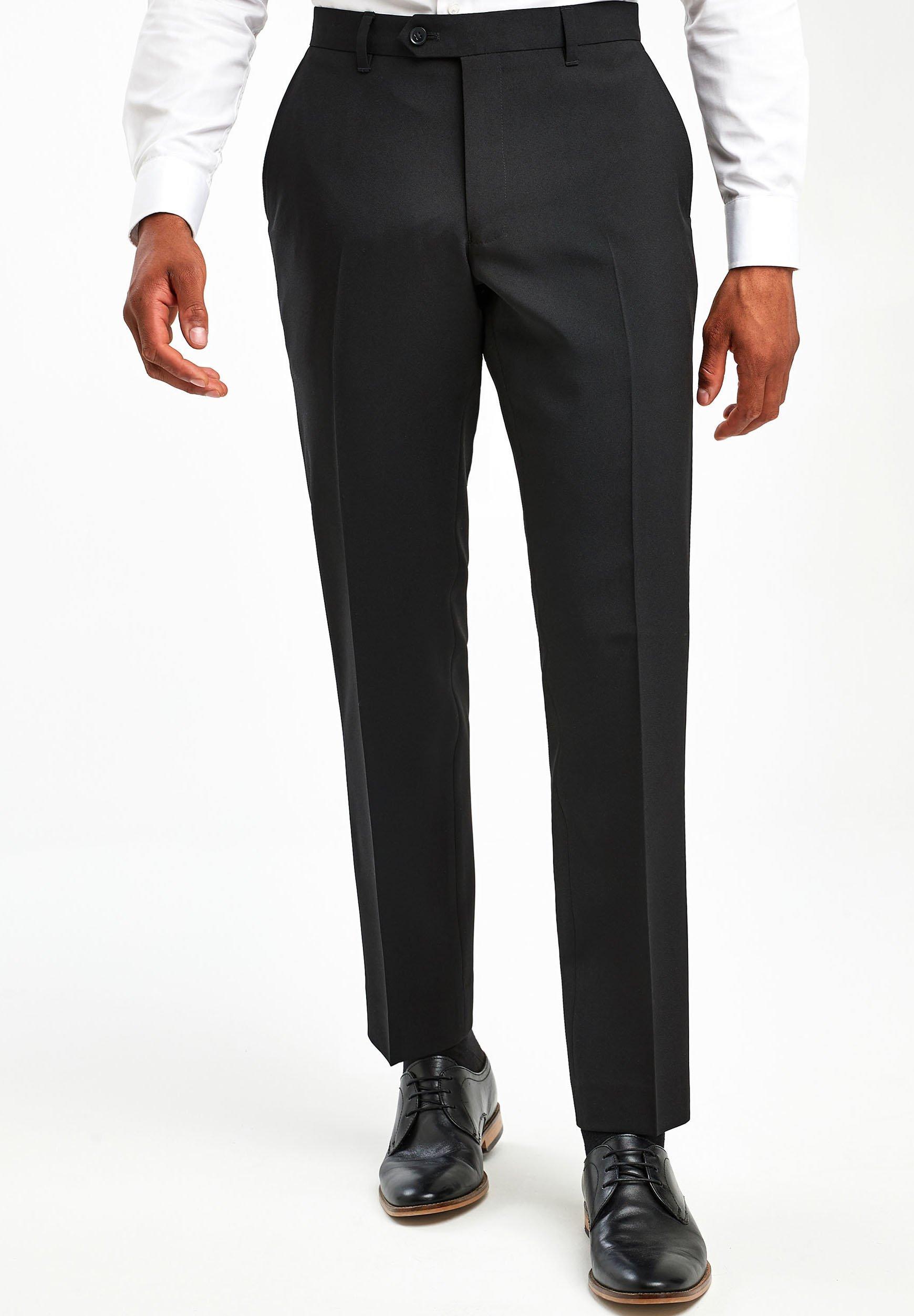 Uomo BLACK TWO PACK TROUSERS - Pantaloni