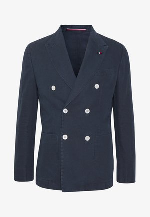 WASHED SLIM FIT - Blazer jacket - blue