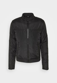 Calvin Klein Jeans - PADDED MOTO JACKET - Light jacket - black - 4