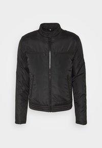 Calvin Klein Jeans - PADDED MOTO JACKET - Kurtka przejściowa - black - 4