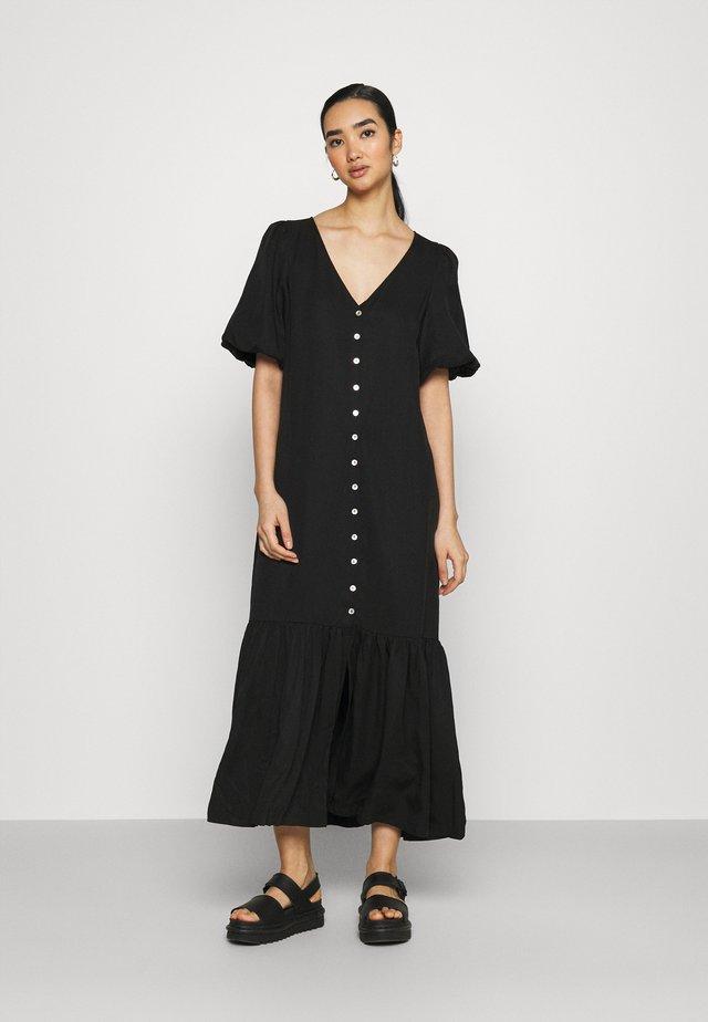 ISABELA DRESS - Vestito lungo - schwarz