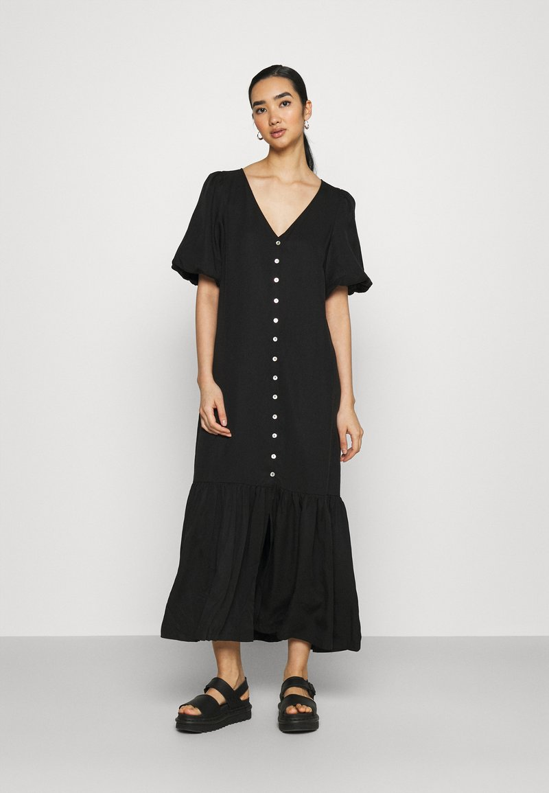EDITED - ISABELA DRESS - Maxi dress - schwarz