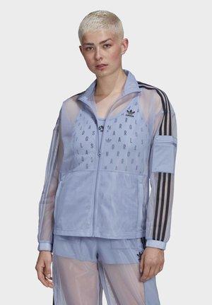MESH TRACK TOP - Træningsjakker - blue
