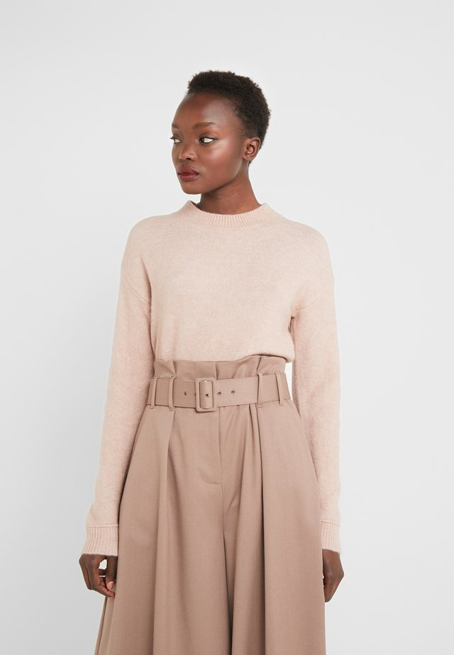HOLLY JOHANNE  - Jumper - cream rose