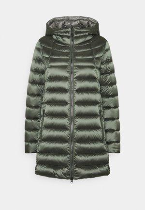 Down coat - matcha/dark steel