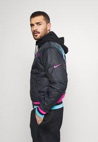 Nike Performance - NBA MIAMI HEAT CITY EDITION JACKET - Club wear - black - 3