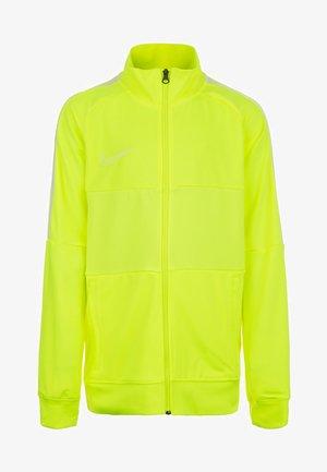 Training jacket - neon yellow
