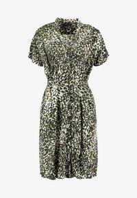 Dorothy Perkins - CRISSY CAMO SHORT SLEEVE DRESS - Skjortekjole - khaki - 4