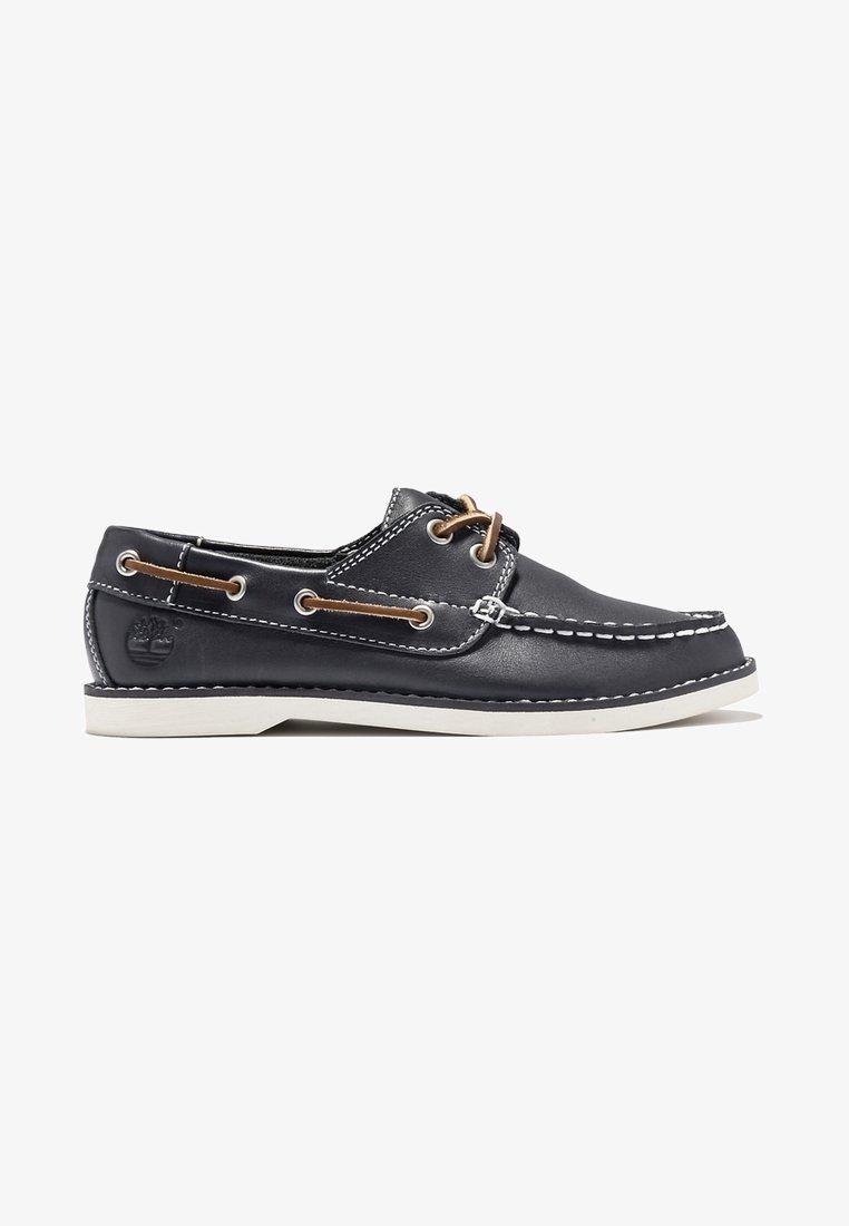 Timberland - SEABURY CLASSIC - Boat shoes - md blue full grain