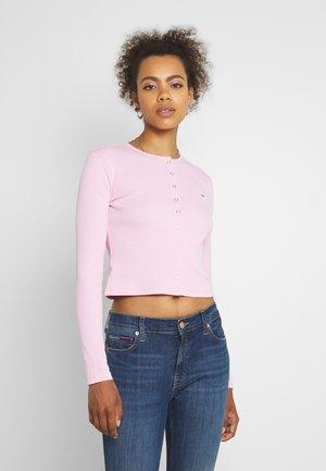 SNAP THRU - Cardigan - romantic pink