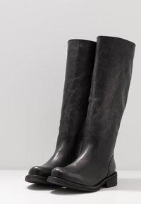 Felmini Wide Fit - COOPER - Vysoká obuv - lavado black - 4