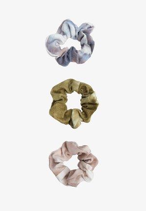3 TIE-DYE SET  - Haar-Styling-Accessoires - rose