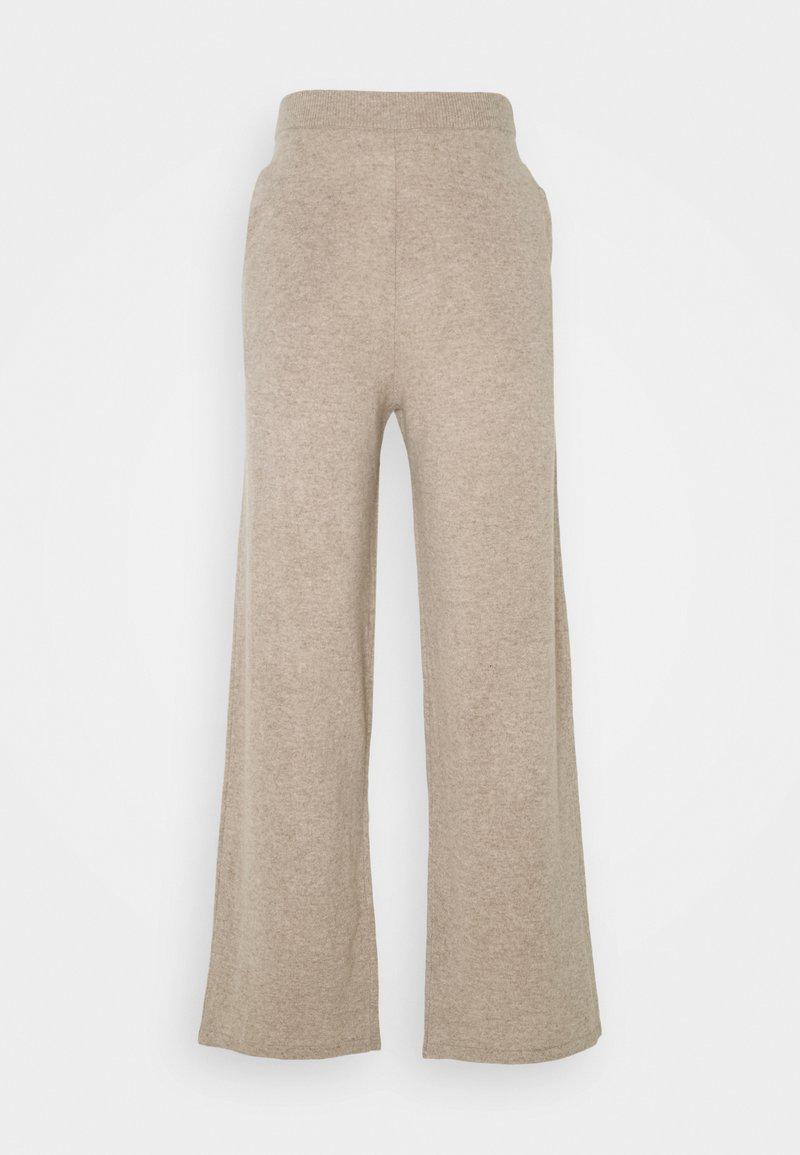 Samsøe Samsøe - AMARIS STRAIGHT TROUSERS - Trousers - beige