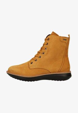 Šněrovací kotníkové boty - daino (gelb)