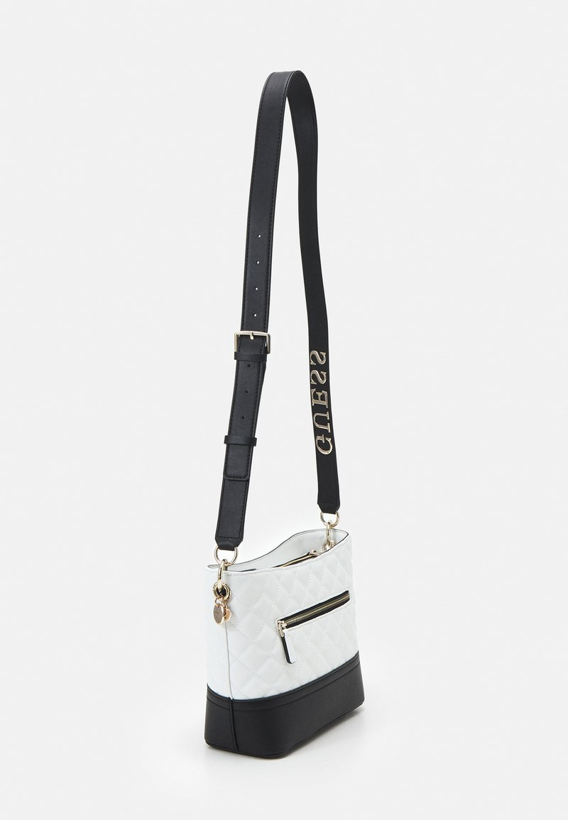 Guess - ILLY BUCKET - Across body bag - white