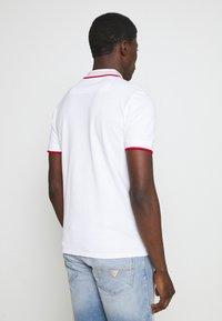 Guess - LES SS POLO - Koszulka polo - blanc pur - 2