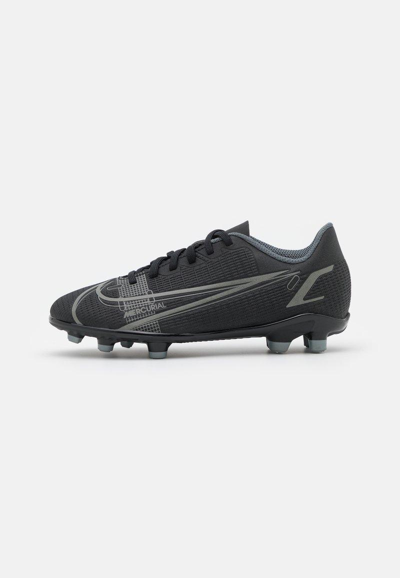 Nike Performance - MERCURIAL JR VAPOR 14 CLUB FG/MG UNISEX - Chaussures de foot à crampons - black/iron grey