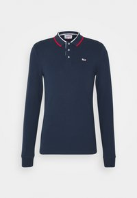 Tommy Jeans - STRETCH POLO UNISEX - Polo shirt - twilight navy - 0