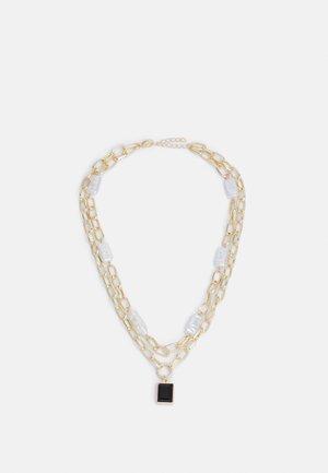 BLACKI COMBI NECKLACE - Smykke - gold-coloured