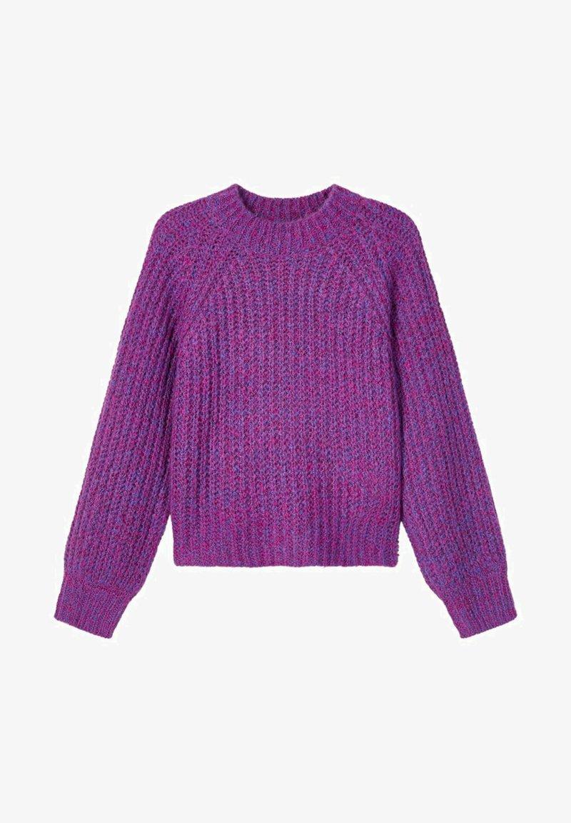 LMTD - GROBSTRICK - Strikpullover /Striktrøjer - rose violet
