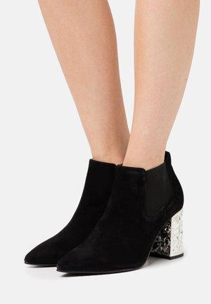 SLFKRISTIANA  - High heeled ankle boots - black