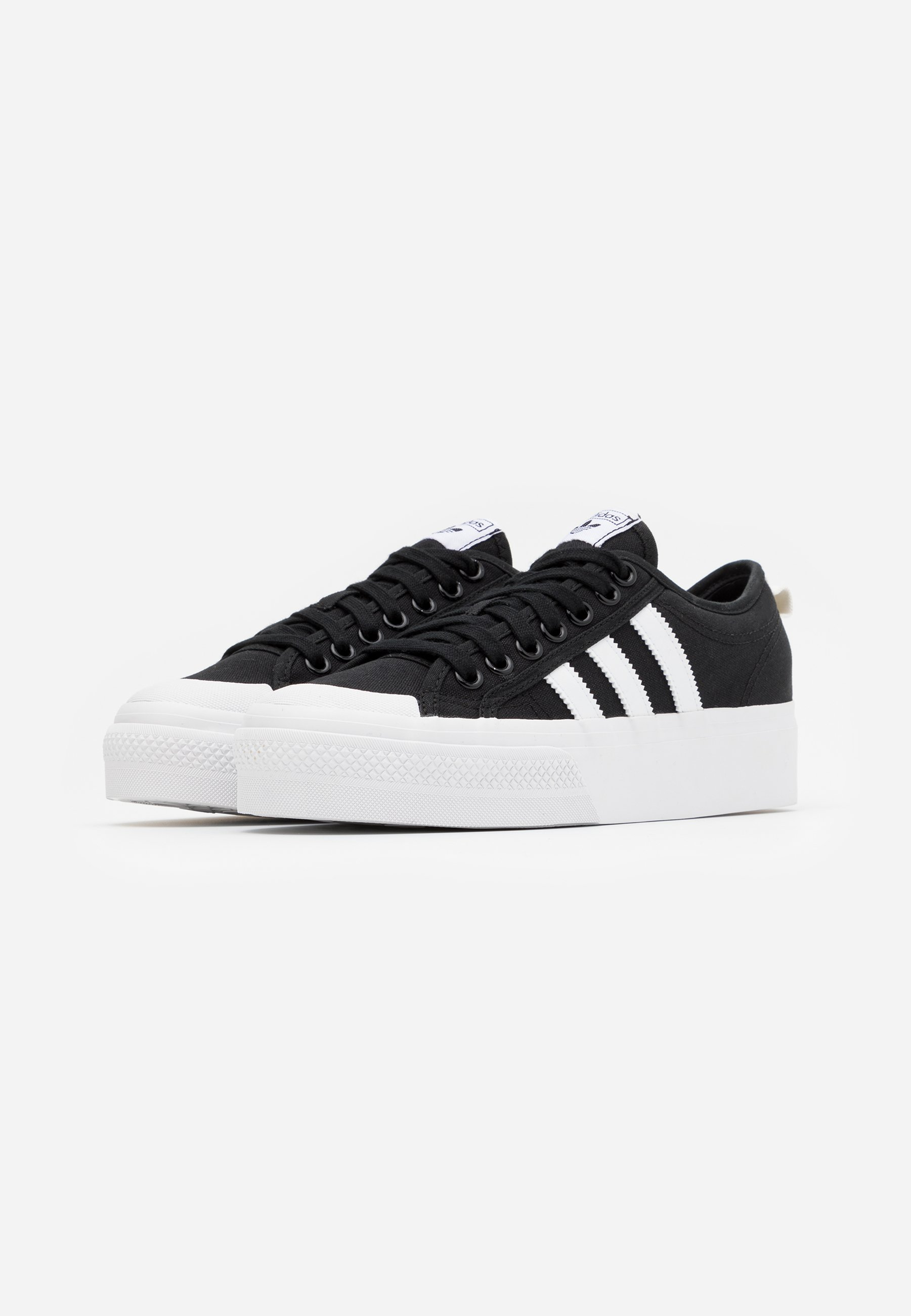 adidas Originals NIZZA PLATFORM Sneaker low core black/footwear white/schwarz
