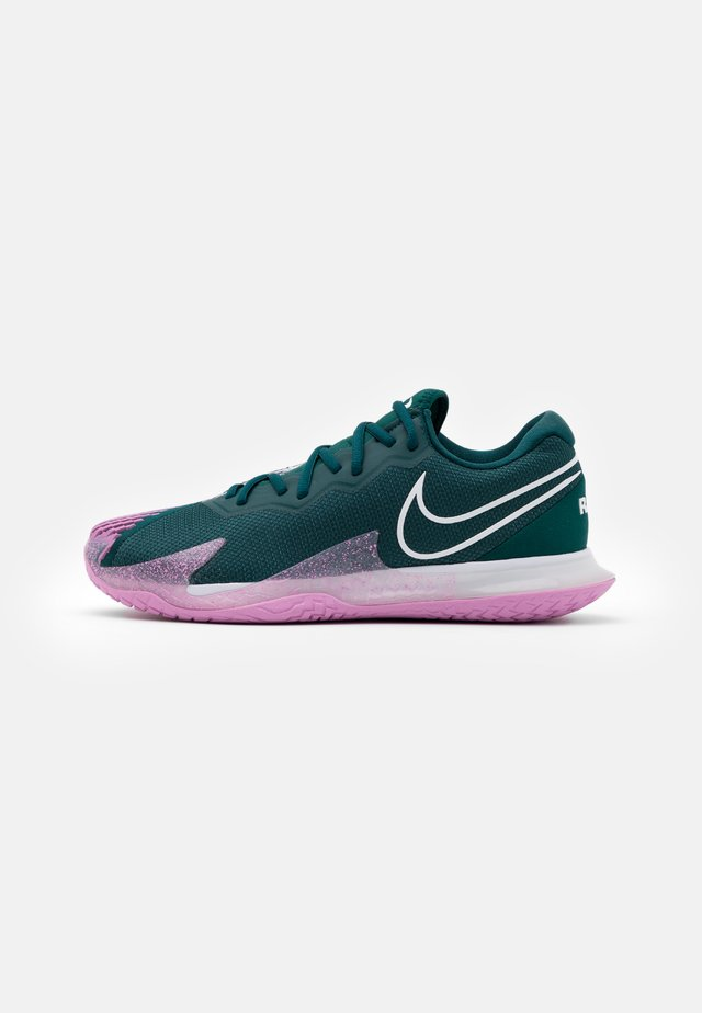 AIR ZOOM VAPOR CAGE 4 - Scarpe da tennis per tutte le superfici - dark atomic teal/white/beyond pink