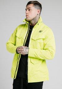 SIKSILK - Light jacket - fluorescent green - 0