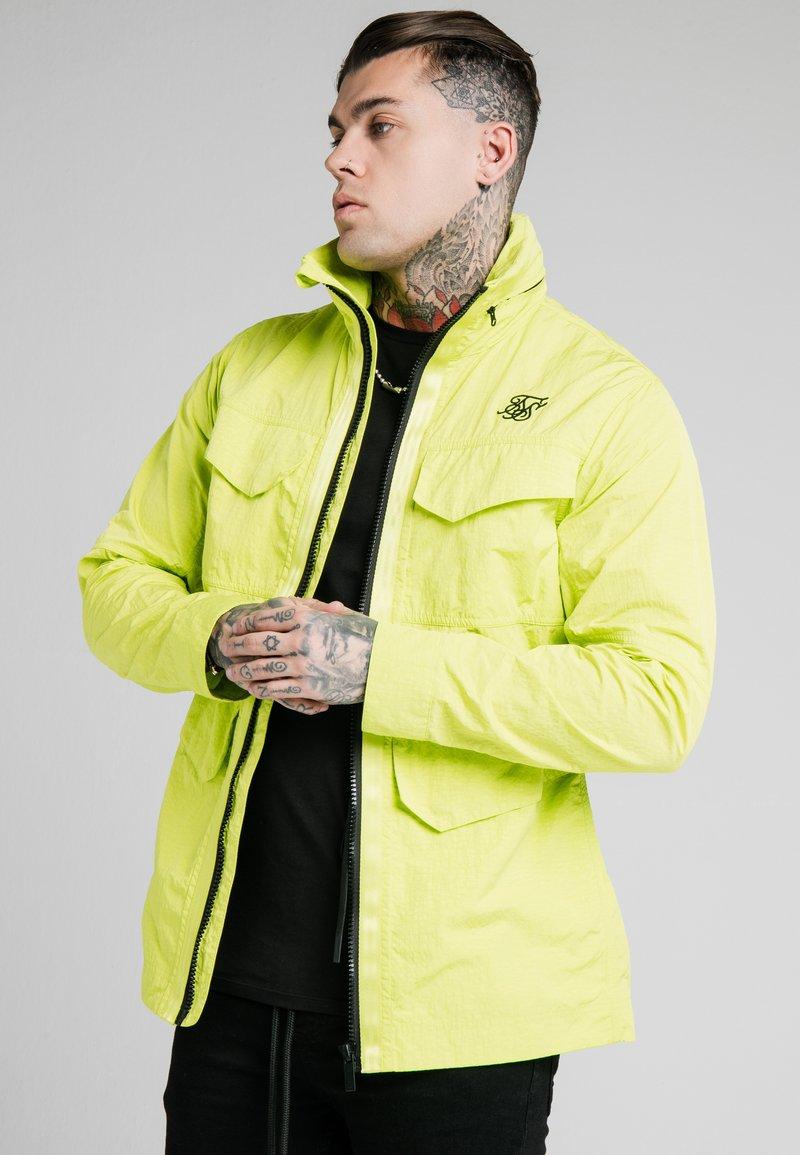 SIKSILK - Light jacket - fluorescent green