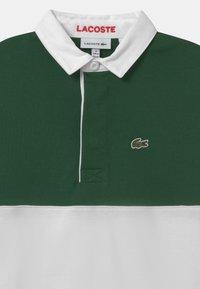 Lacoste - RUGBY  - Polo shirt - flour/cinnabar-green - 2