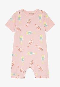 Smitten Organic - SHORTALL BABY ZGREEN - Jumpsuit - powder pink - 3