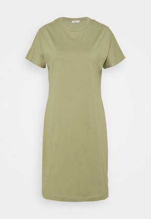 EFFIE DRESS - Jerseyjurk - sage green