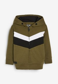 Next - SET - Zip-up hoodie - green - 1