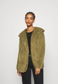 ONLY - ONLNEW CONTACT HOODED - Giacca leggera - martini olive - 0