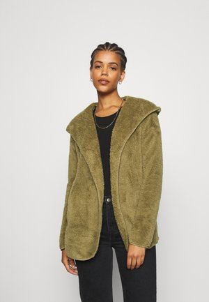 ONLNEW CONTACT HOODED - Lett jakke - martini olive