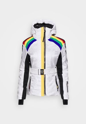 RAINBOW SKI - Ski jacket - white
