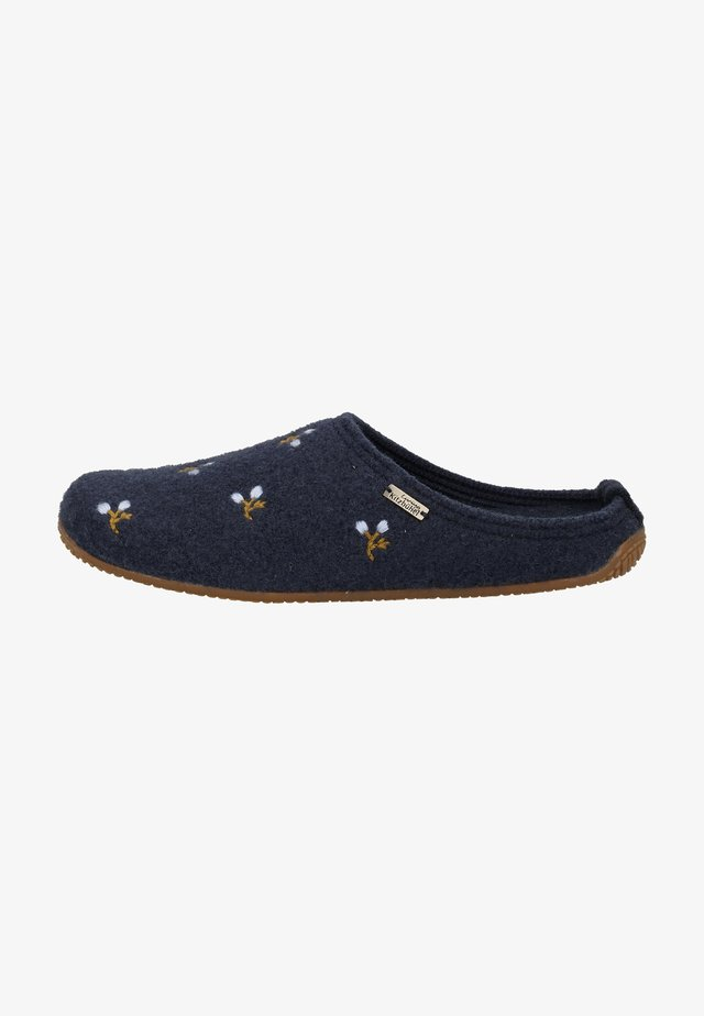 Pantoffels - dunkelblau