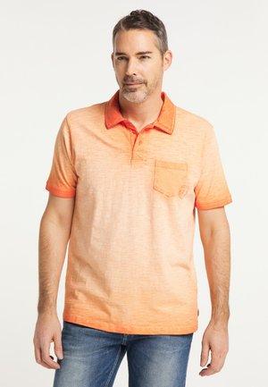 Poloshirt - orangerust