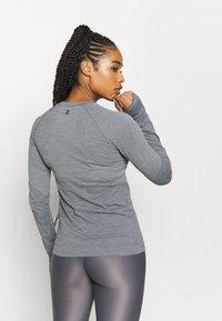 Sweaty Betty - ATHLETE SEAMLESS WORKOUT - Sports shirt - charcoal grey - 2
